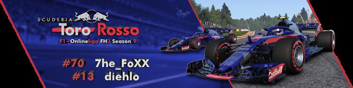 Nochmal Neu: Signatur FH3 S9 Toro Rosso