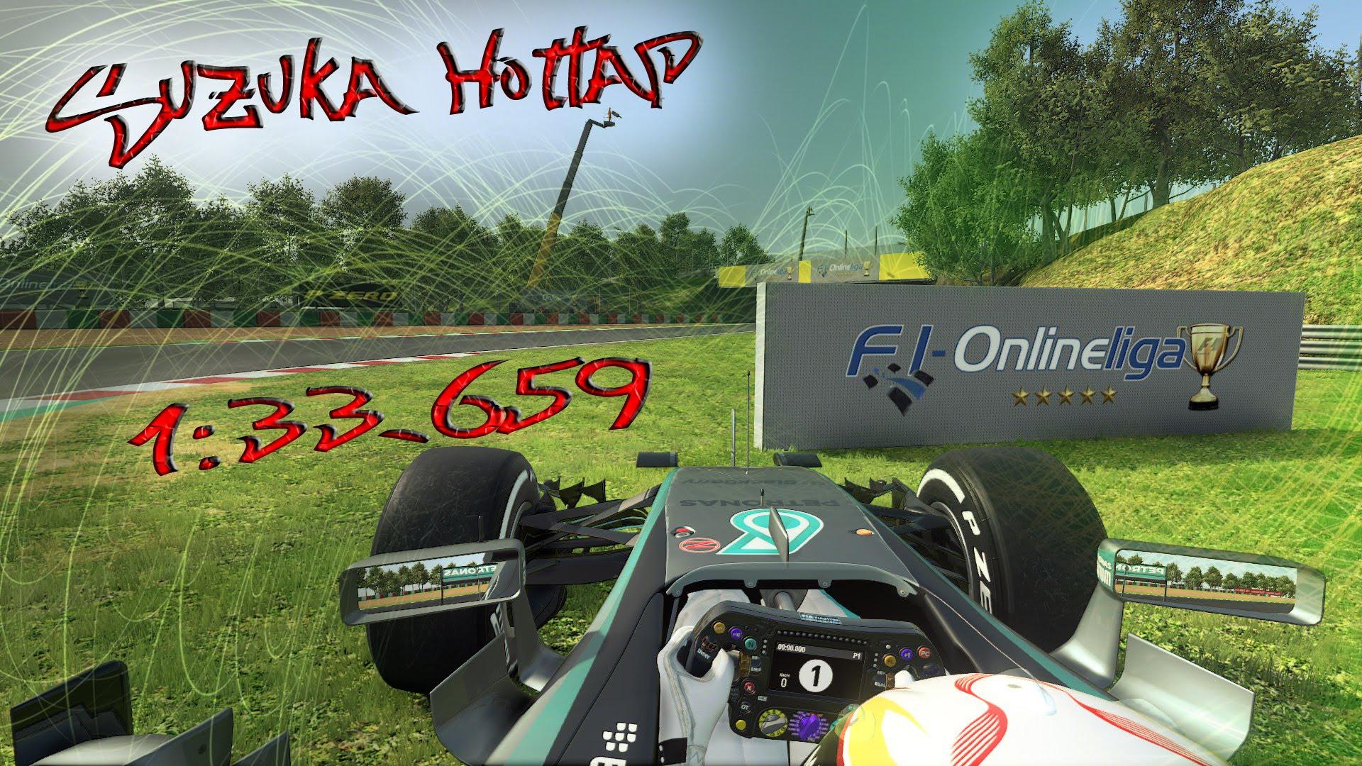 F1 2015 | Suzuka Online Hotlap | 1:33.659 + Setup *No Assists
