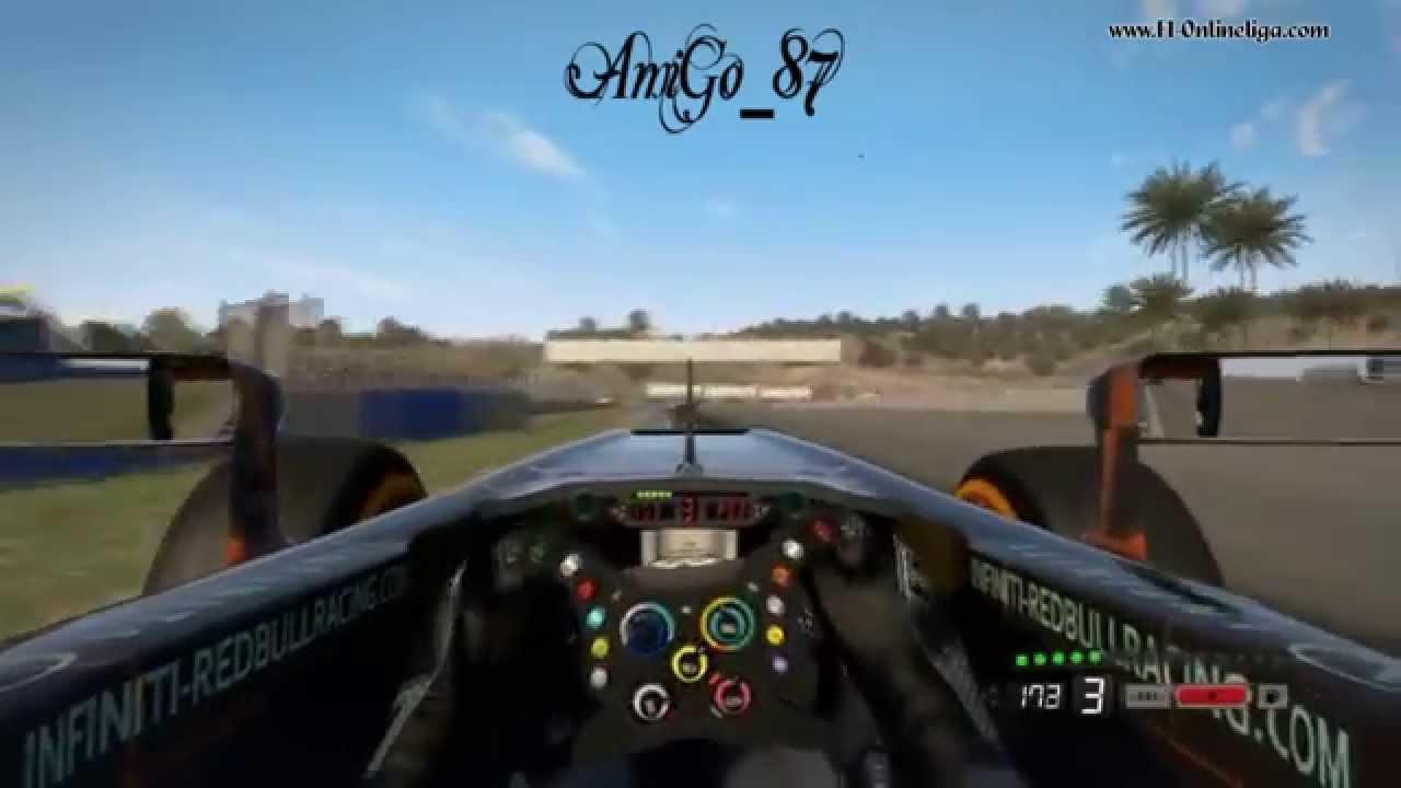 F1 2013 | Jerez Oboard | KI-Level is amazing