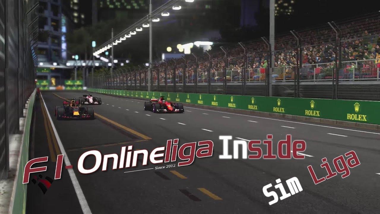 F1-Onlineliga Inside [PS4] Driver of the Day Verkündung SIM Singapur