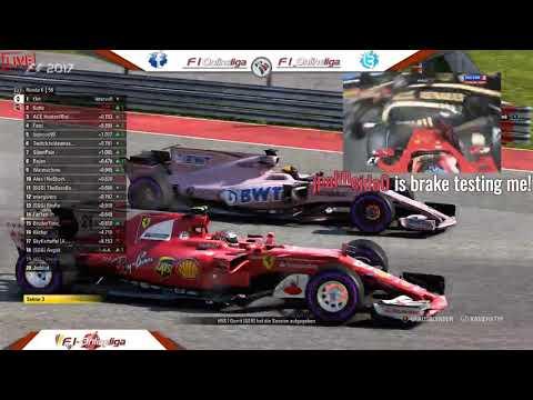 Highlight: F1 2017  F1-Onlineliga PC Liga 1 - USA GP