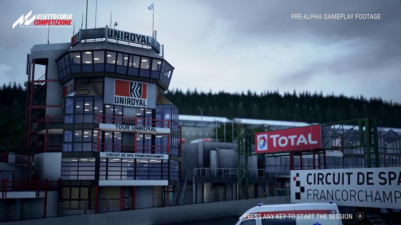 E3 Assetto Corsa Competizione Spa