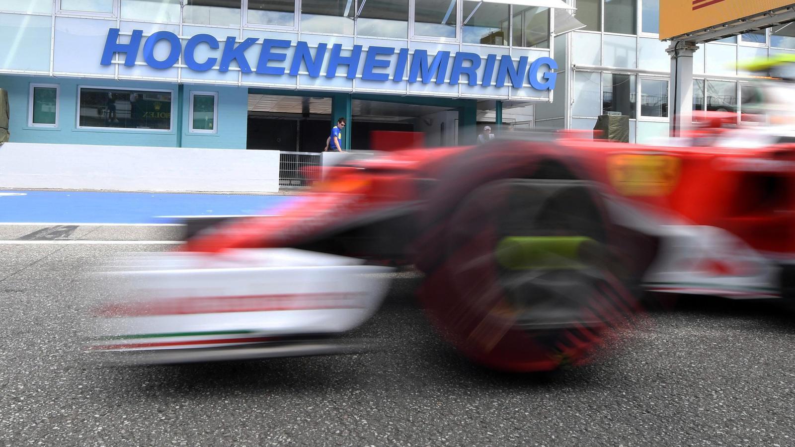 Wir sind bereit für Hockenheim - F1-Onlineliga