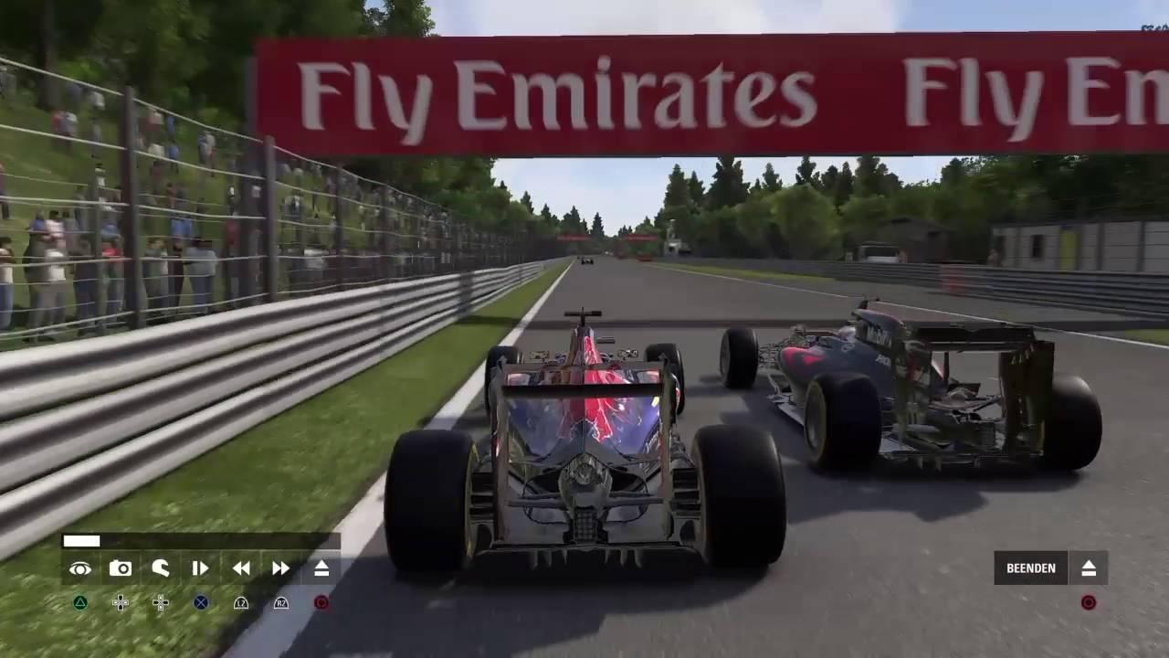 F12016 Karriere GP Spa mit Teamwechsel
