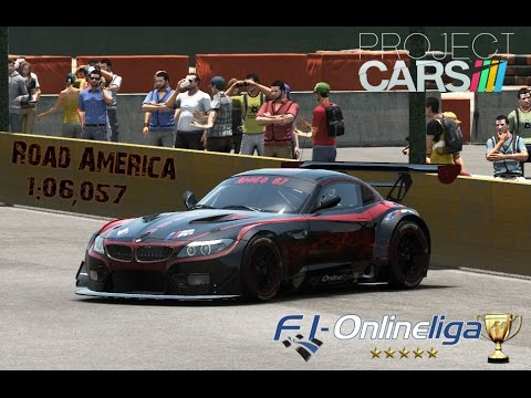 Project Cars | Road America 2:06,057 GT3 BMW Z4