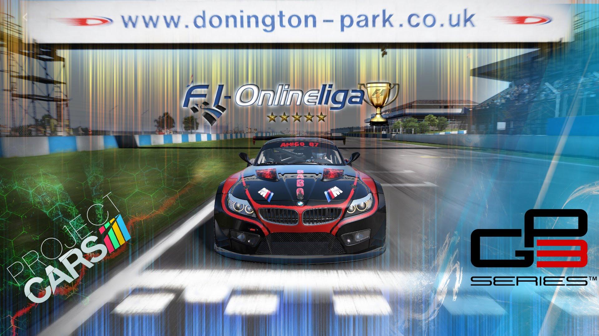 Project Cars | Donington Park GP 1:25,607 GT3 BMW Z4
