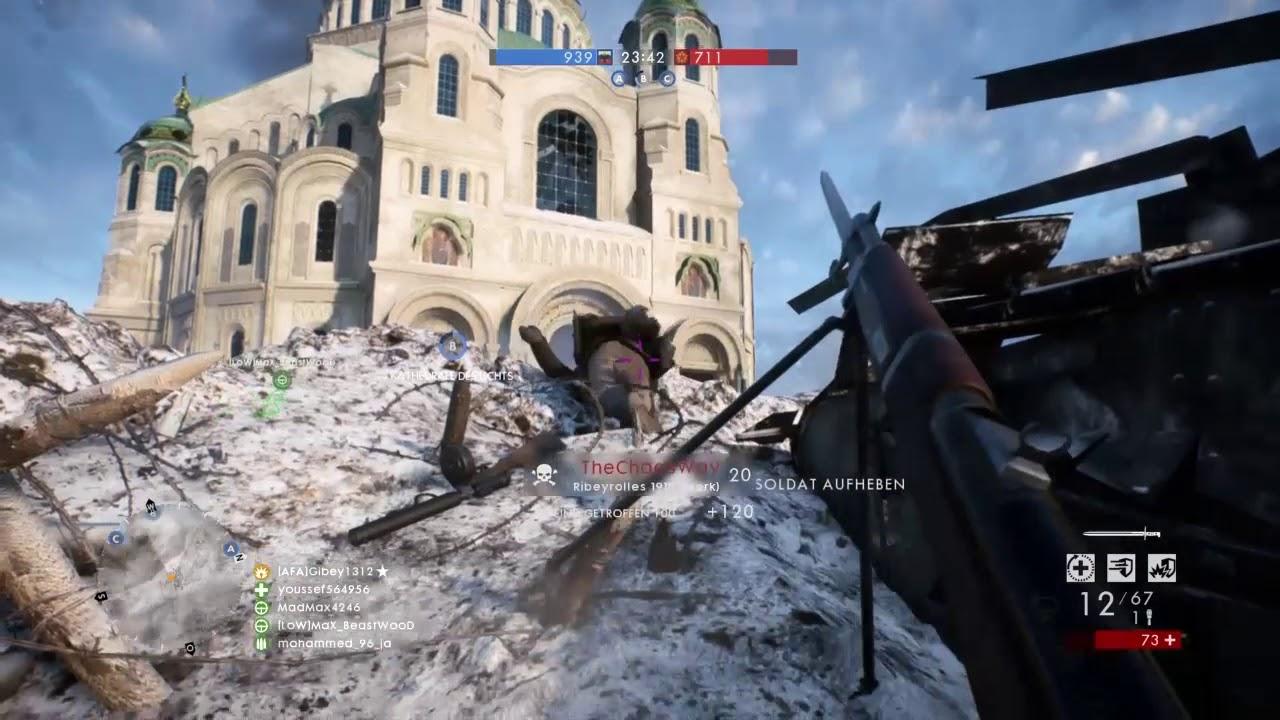 Behemoth, AA, Boat und Tank Zerstörung -The Joy of Battlefield 1