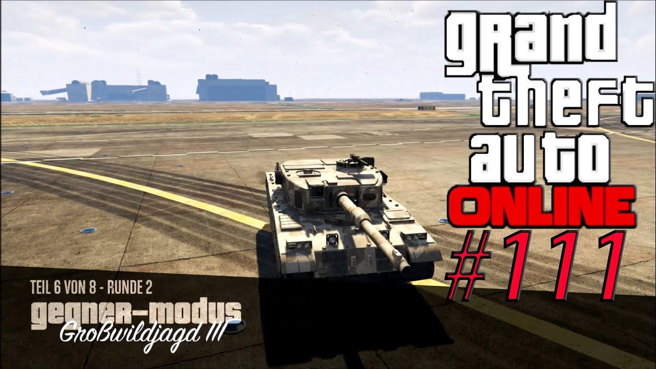 PANZER GEGEN HAFTBOMBEN!! #111 ★ GTA V Online PC