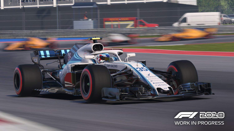 F1 2018 Spanien Liga 3. 2 Manöver in 2 Kurven