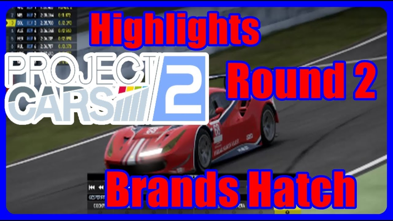 HIGHLIGHTS   Brands Hatch GP  🚗Project Cars 2🚗 [PS4] (Runde 2)