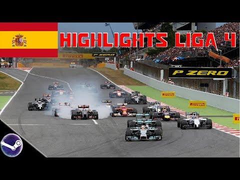 Highlights: F1 2018 • F1-Onlineliga PC Liga 4 🎮 Spanien GP