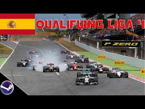 F1 2018 🎮 Spanien GP (Qualifying) 🏎  F1-Onlineliga PC Liga 4 [Livestream]