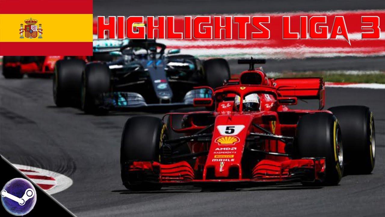 Highlights: F1 2018 • F1-Onlineliga PC Liga 3 🎮 Spanien GP