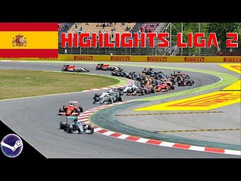 Highlights: F1 2018 • F1-Onlineliga PC Liga 2 🎮 Spanien GP