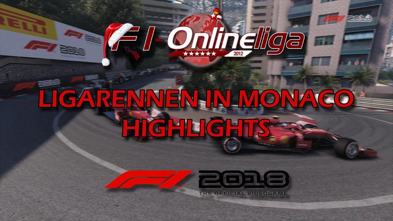 F1-Onlineliga-Ligarennen in Monaco - Highlights von Tommre (FH1) (F1 2018/PS4/Deutsch)