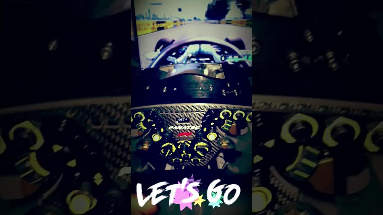 ClubSport F1® 2018 limited Edition + ClubSport Wheel Base V[1] !!!