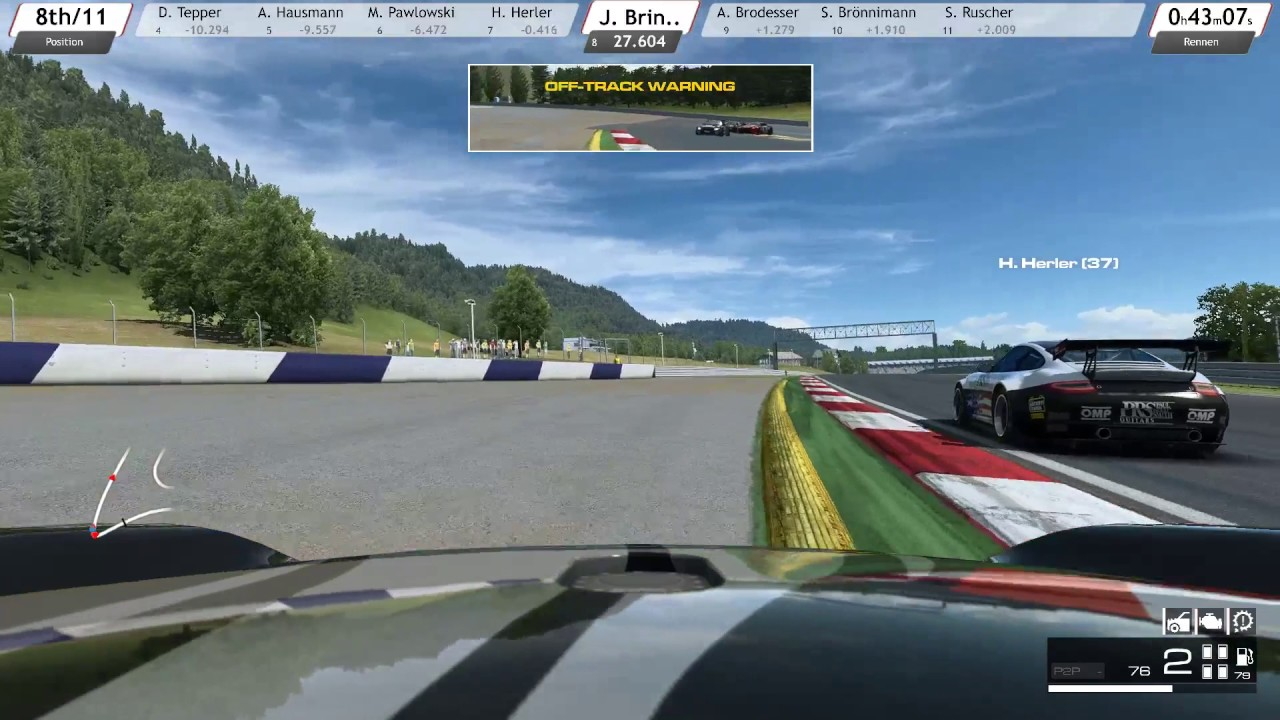 RaceRoom Spielberg/Austria 50min [S01R02]