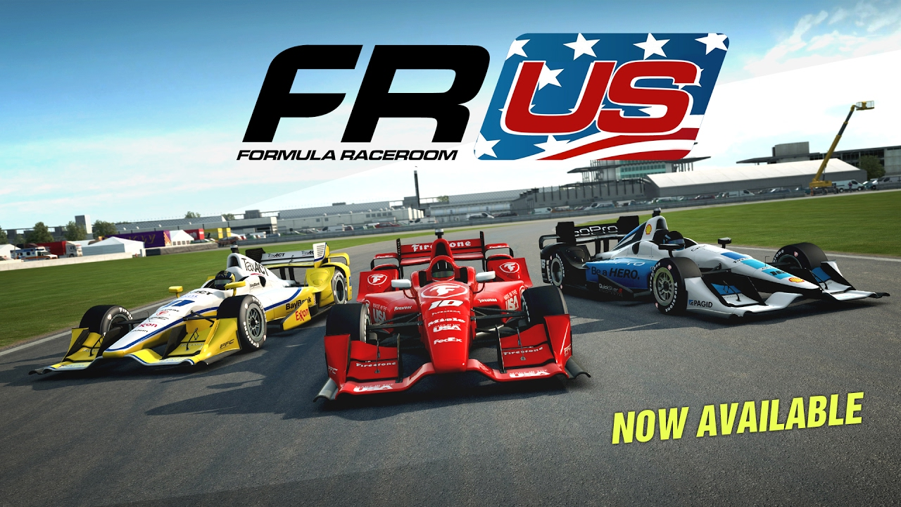 RaceRoom | Formula RaceRoom US - now available