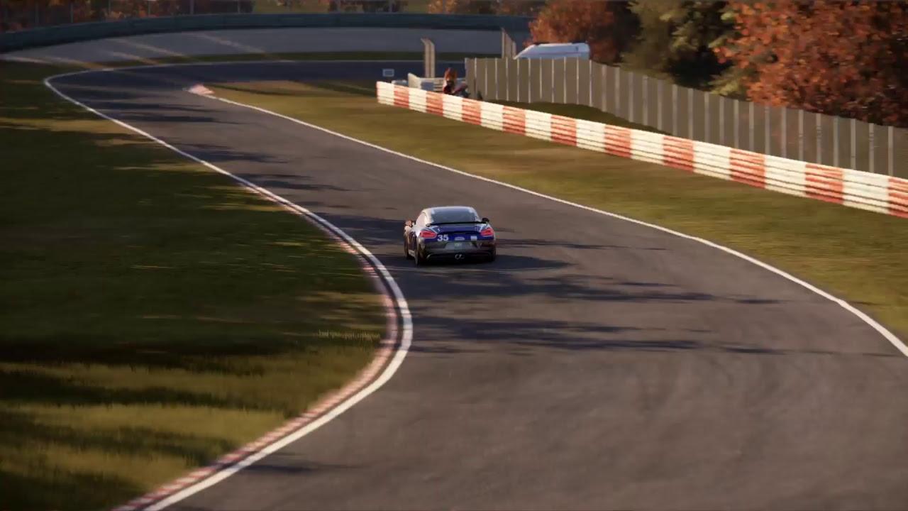Porsche Cayman GT4 Nordschleife
