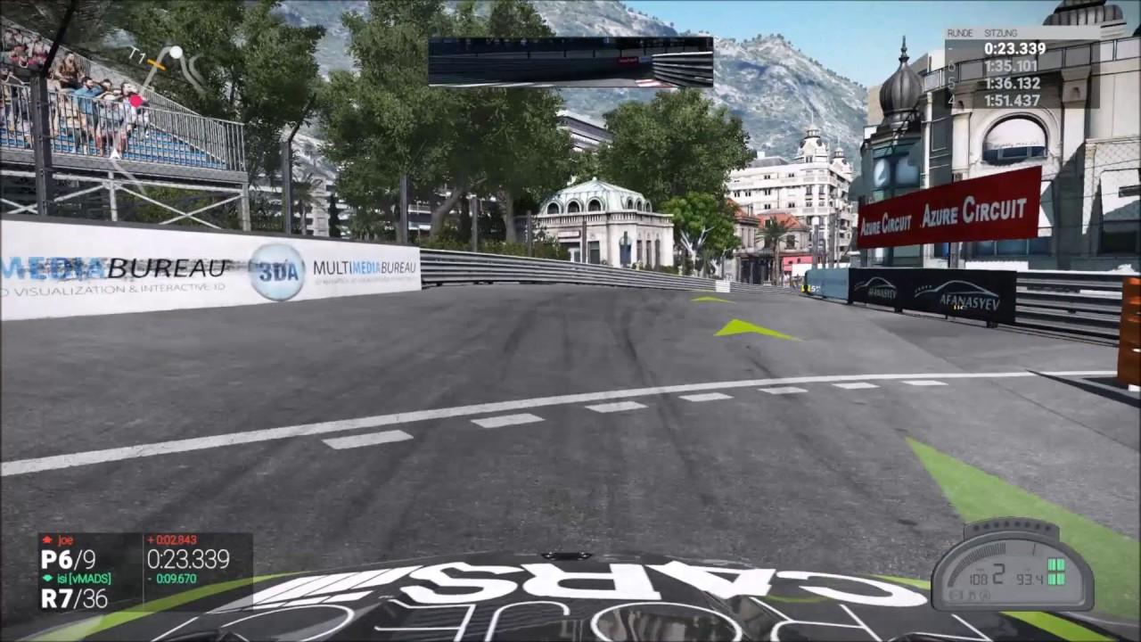 PCars Monaco Saison 4 Rennen 2