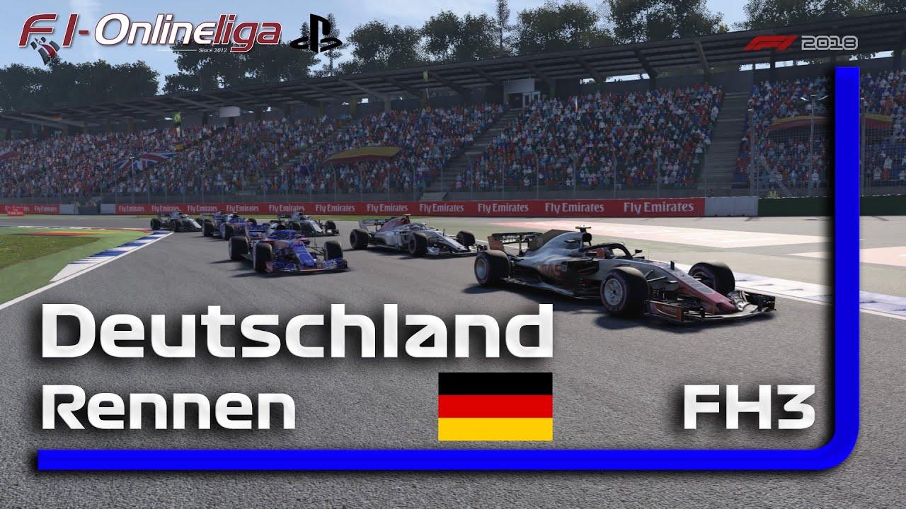 PS4 I S8 I R1 I Deutschland GP I FH3 | Qualifikation & Rennen #F1 2018