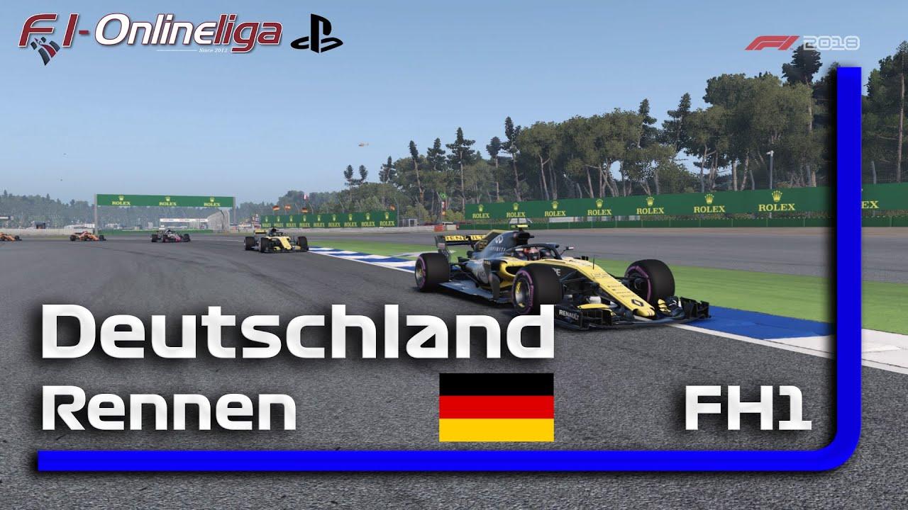 PS4 | S8 | R1 | FH1 | Hockenheim | Deutschland | Qualifikation & Rennen #F12018