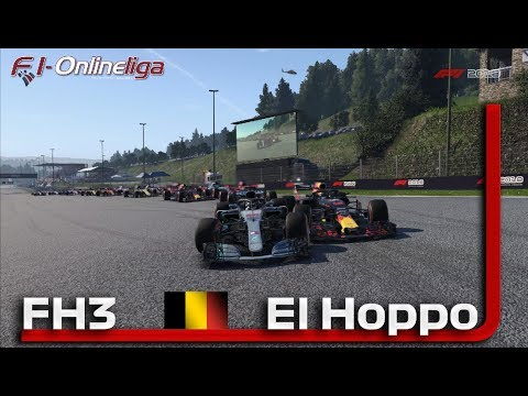 Belgien GP 🏎 F1-Onlineliga PC FH3 🎮 F1 2018 Highlights | Marcel_El_Hoppo