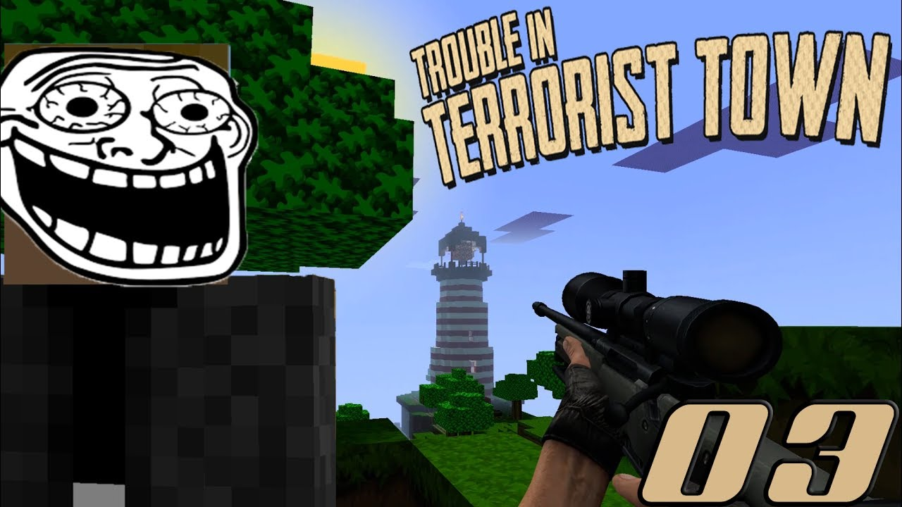 Chicken Dinner am Leuchtturm! #03 ★ Trouble in Terrorist Town [Garry's Mod]