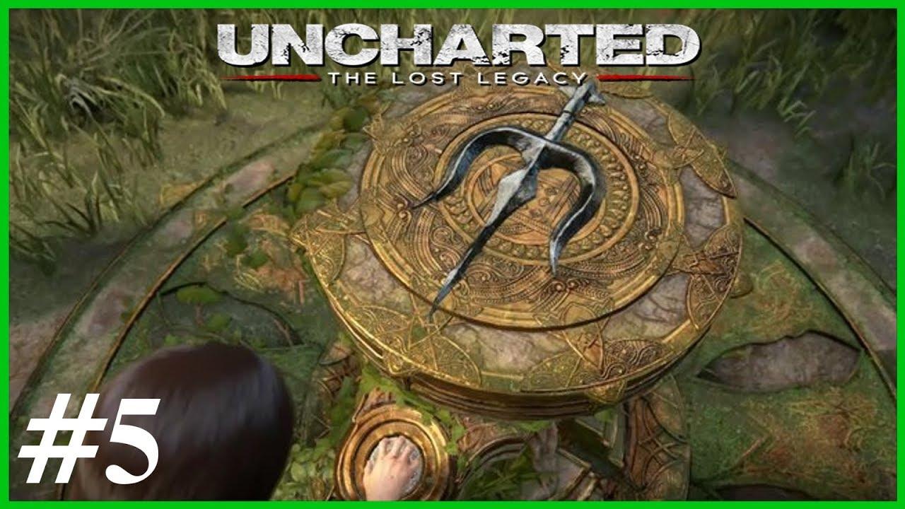 🌳Der Dreizack 🌳Let's Play Uncharted The Lost Legacy #5 🌳Deutsch 🌳PS4