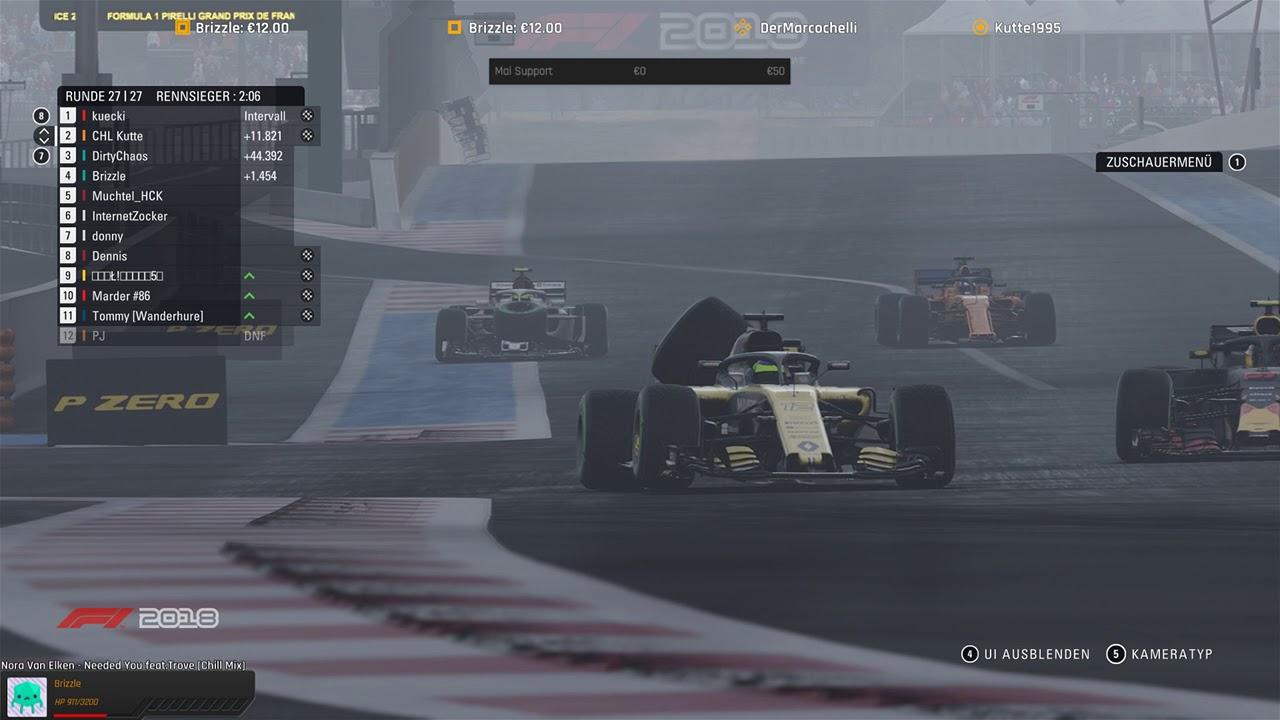 F1 2018 KI im Brennpunkt