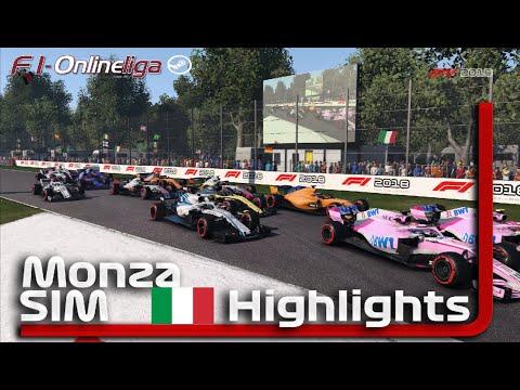 Highlights: Italien GP 🏎 F1-Onlineliga PC S9 Liga SIM 🎮 F1 2018