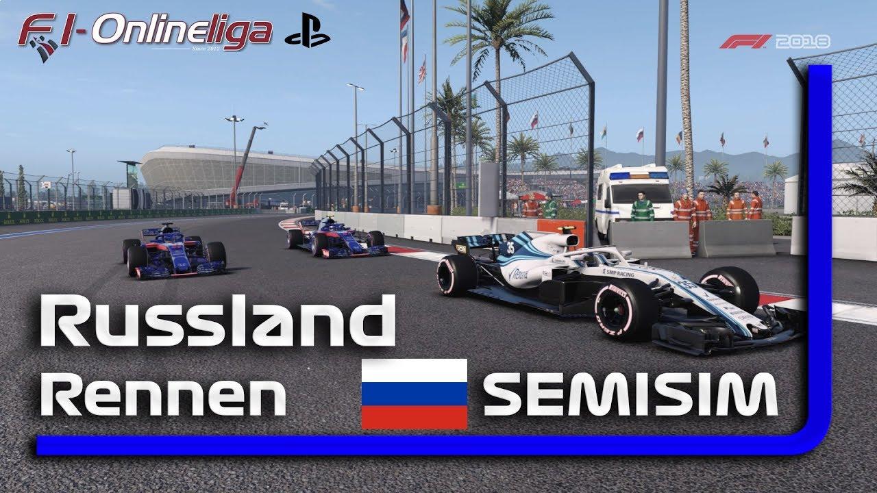 PS4 | S8 | R6 | Russland GP | SEMI SIM | Qualifikation & Rennen #RIP Niki