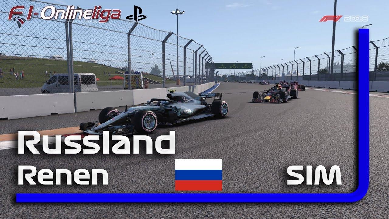 PS4 | S8 | R6 | Russland GP | SIM | Qualifikation & Rennen #RIP Niki