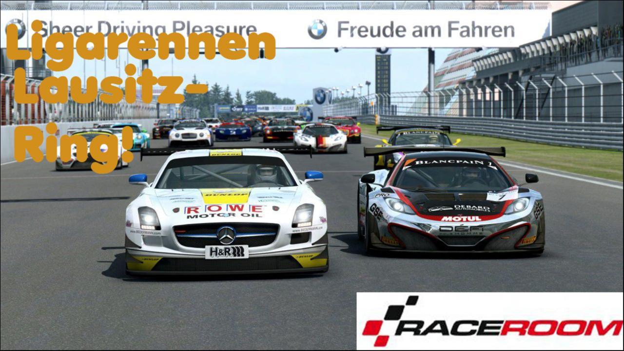 R3E Raceroom Ligarennen Highlights,Lausitzring!