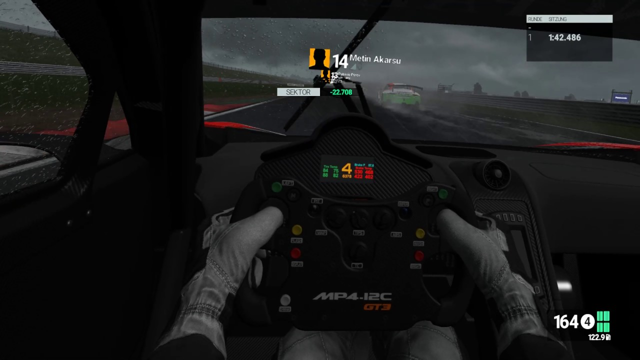 pCars Oculus Rift   Snetterton 200 - Thunderstorm   GT3 Class