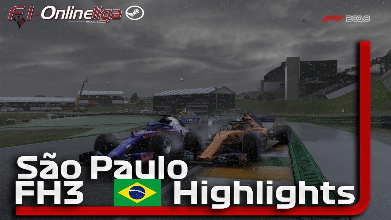F1 2018🎮 BRASILIEN GP 🏎 F1 Onlineliga PC FH3