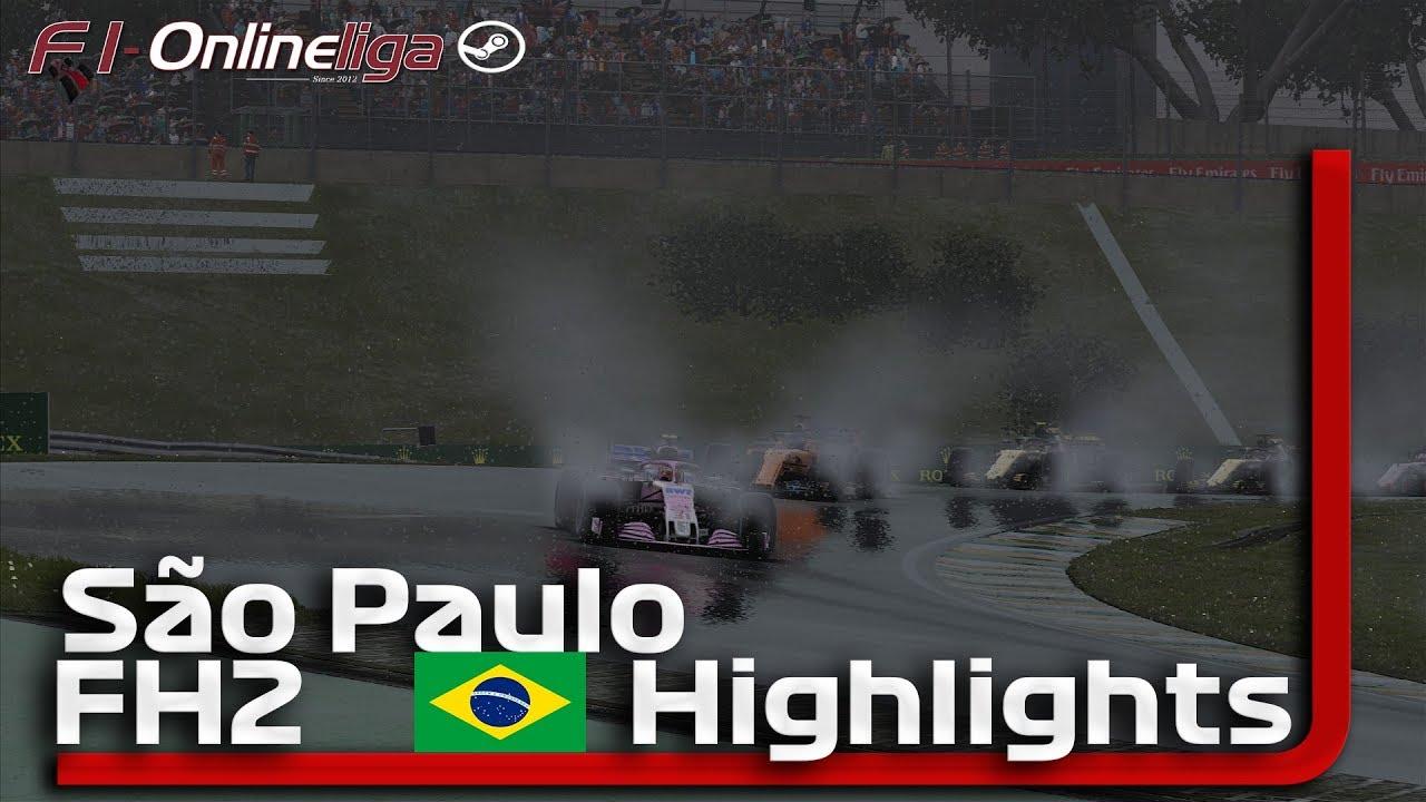 F1 2018🎮 BRASILIEN GP 🏎 F1 Onlineliga PC FH2