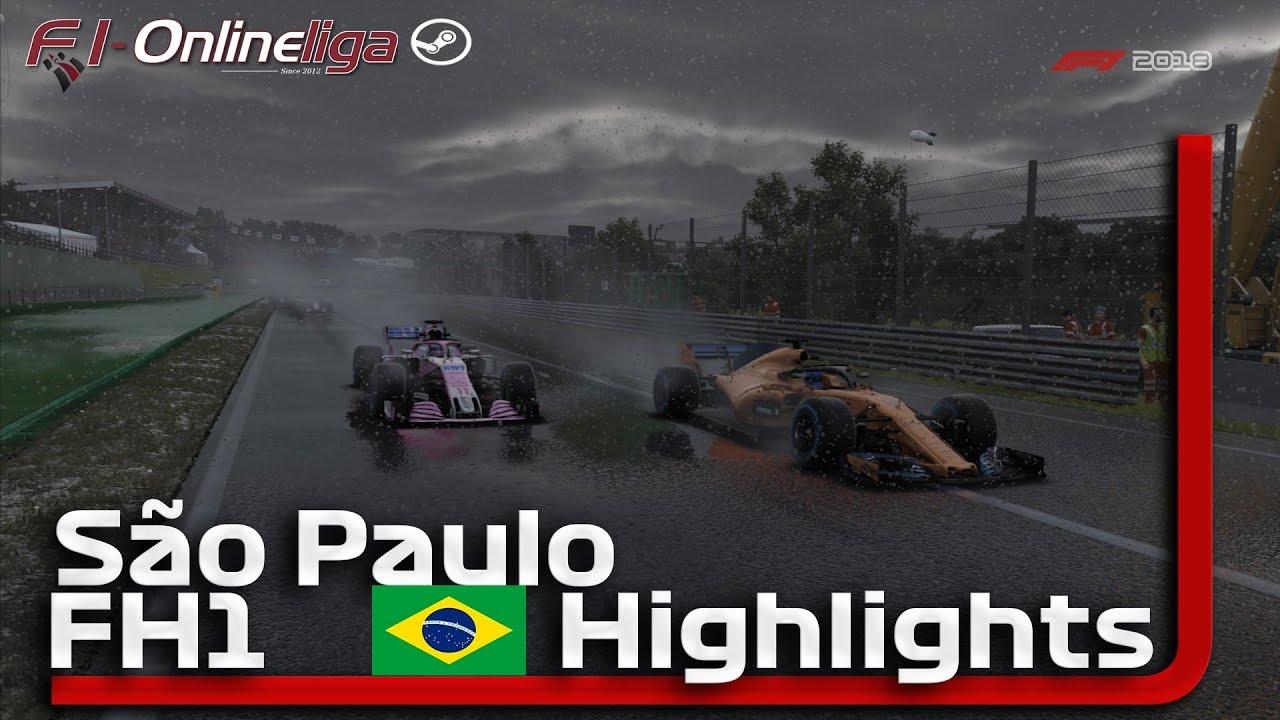 F1 2018🎮 BRASILIEN GP 🏎 F1 Onlineliga PC FH1