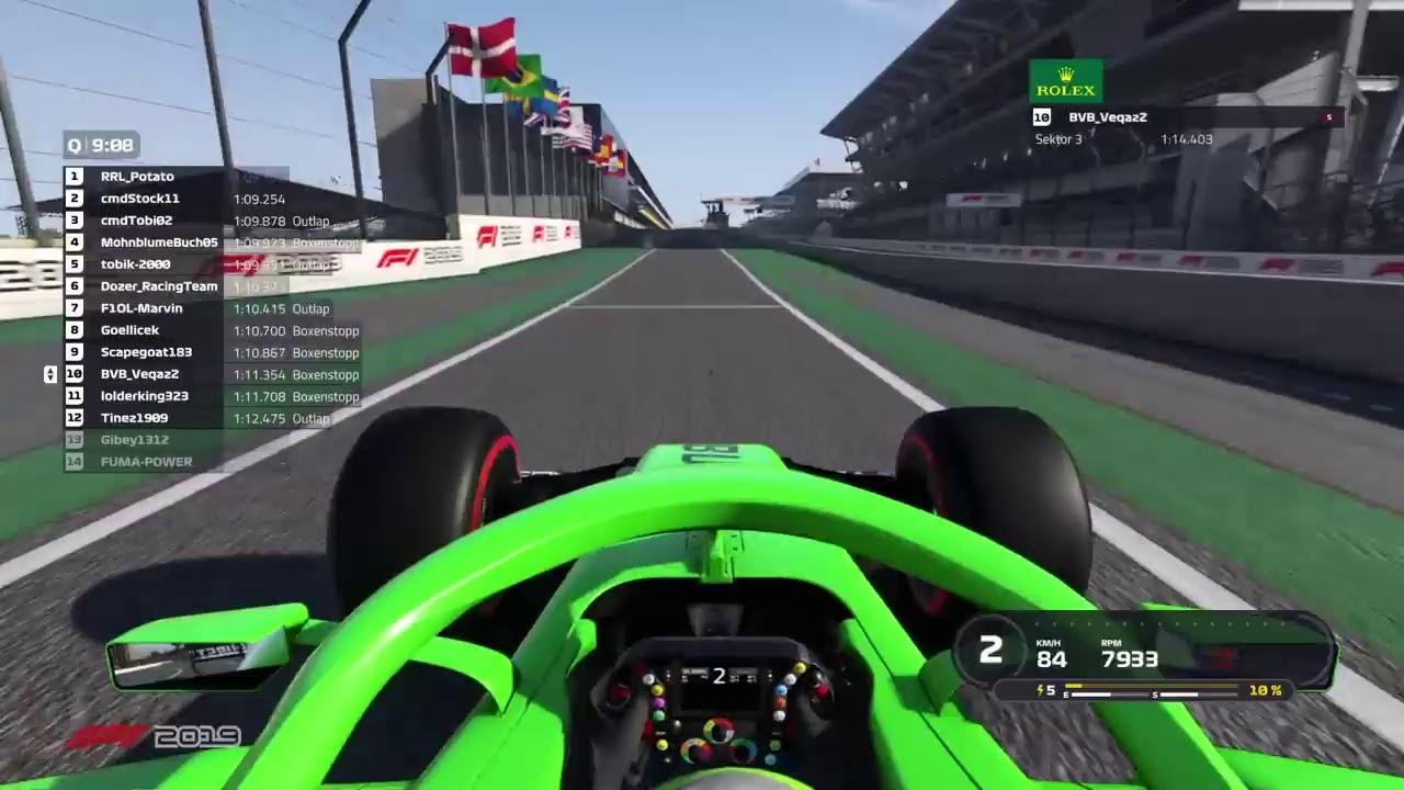 PS4 |#1 Rookierennen | Brasilien | S09R02 | F1-Onlineliga | F1 2019 | Quali + Rennen