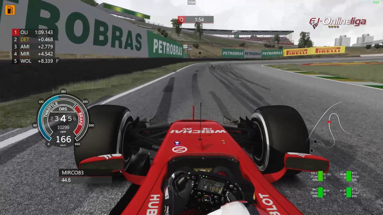 Assetto Corsa - F1-Onlineliga