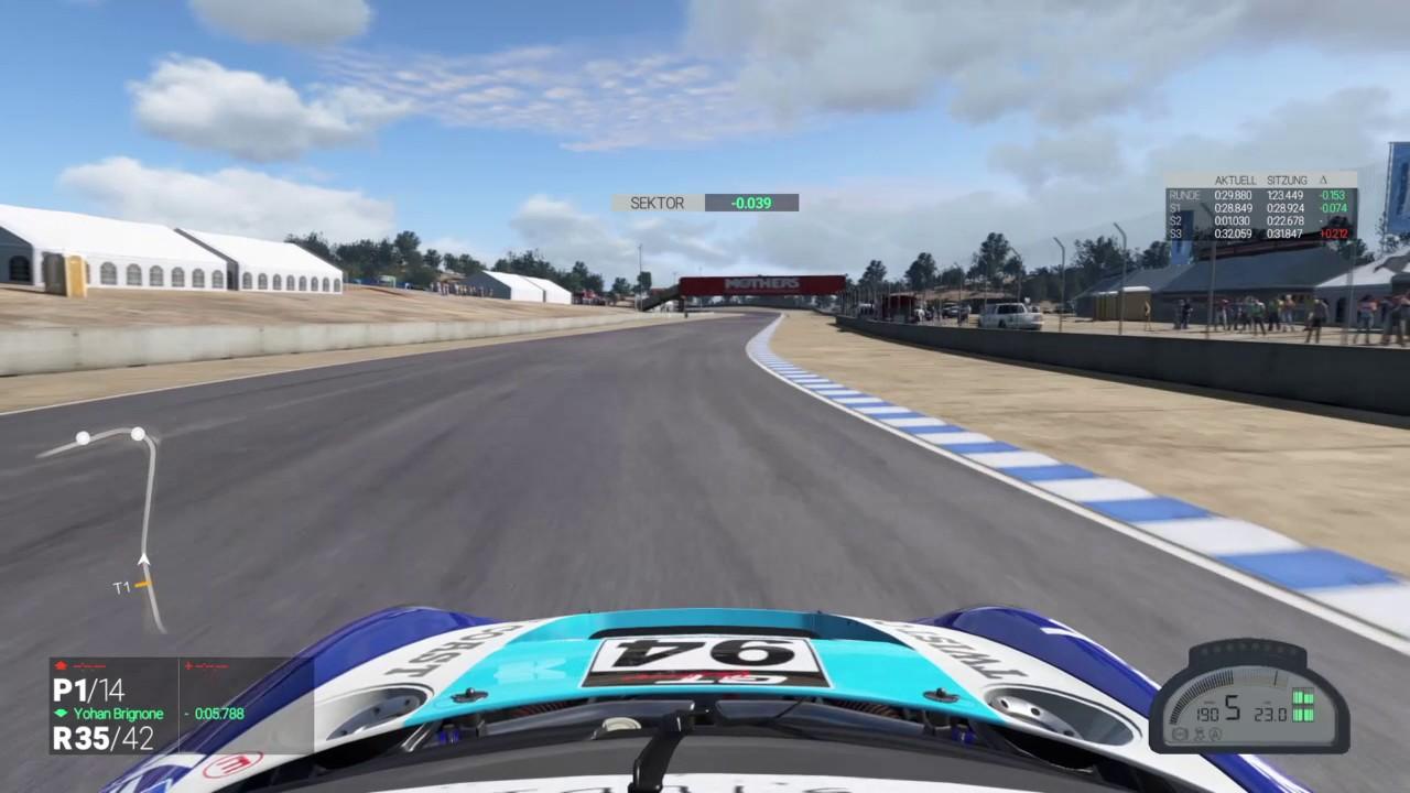 PS4 Project CARS Laguna Seca GT3 Lap Ruf