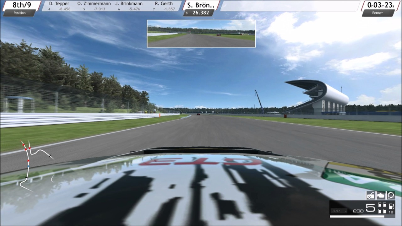 R3E GT Masters Saisonfinal Hockenheim