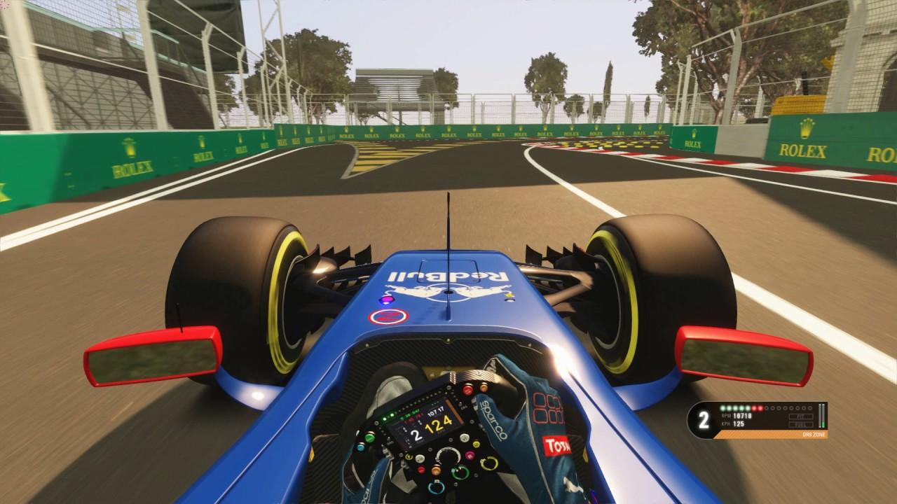 AssettoCorsa Baku rss formula hybrid cockpit