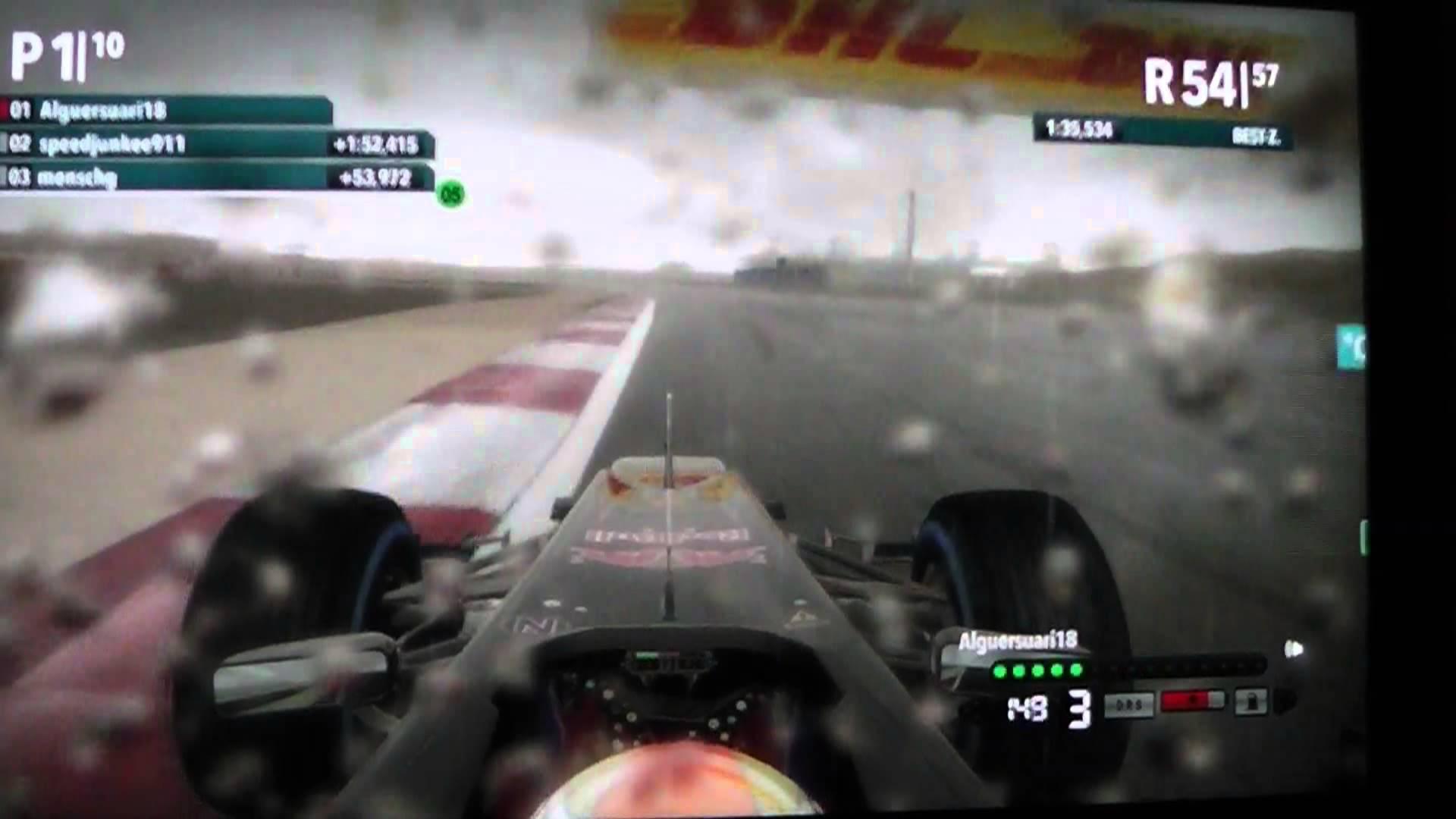 f12012 4 Ligarennen bahrain + setup Liga 4 PS3