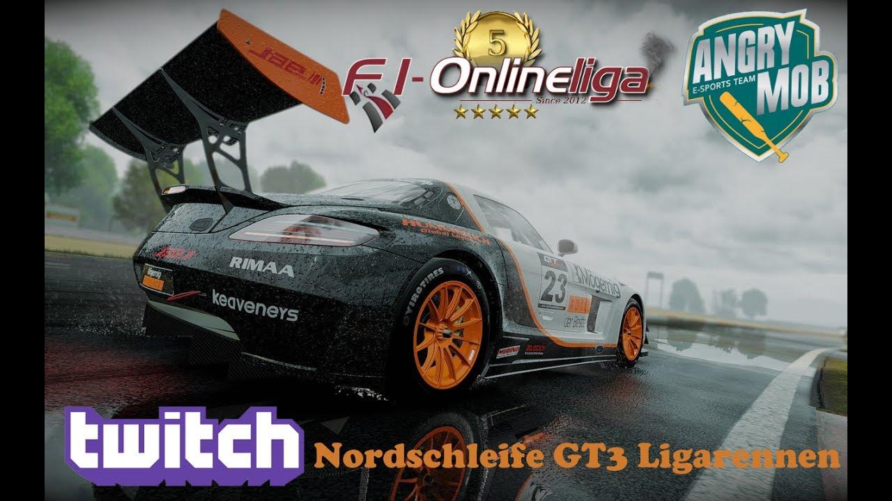 Project CARS GT3 LIGA-Rennen Nordschleife
