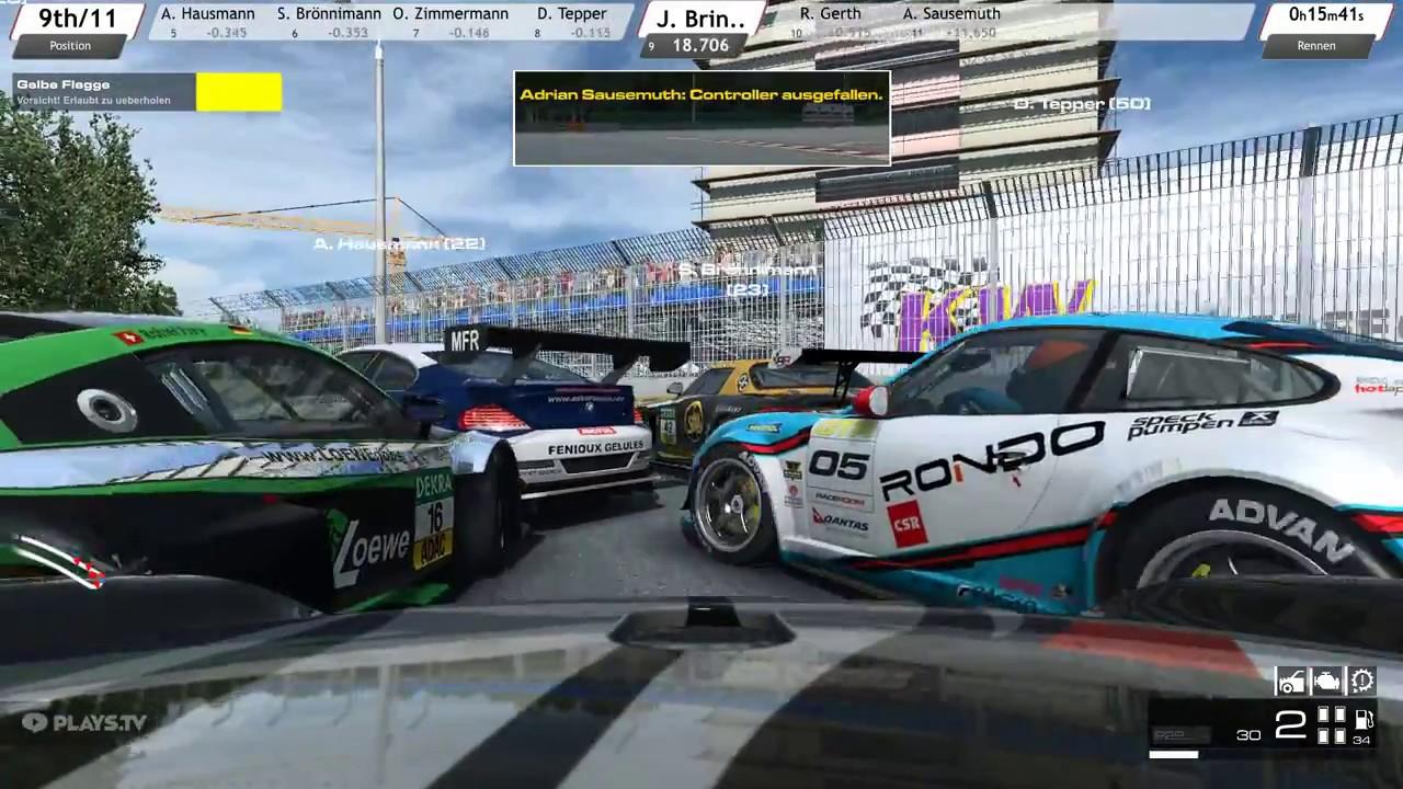 RaceRoom Norisring/Germany 16min [S02R02]