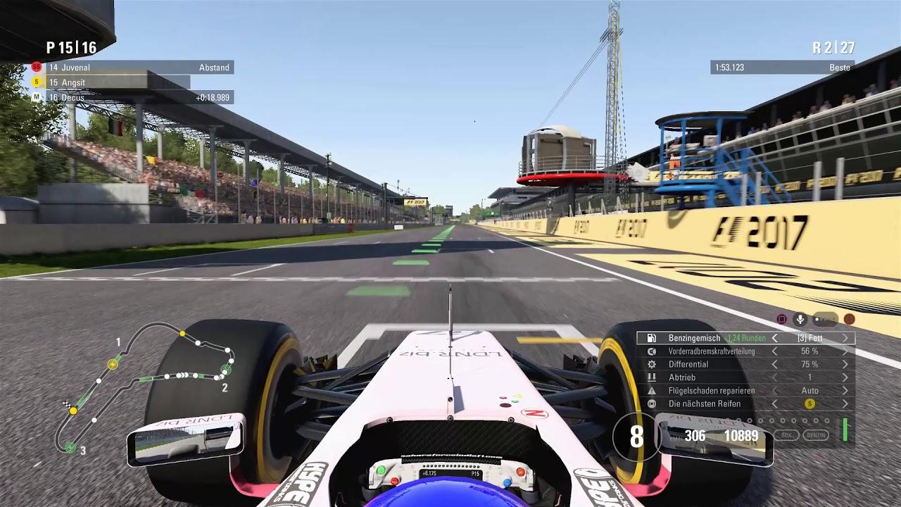F1 2017 test rennen monza