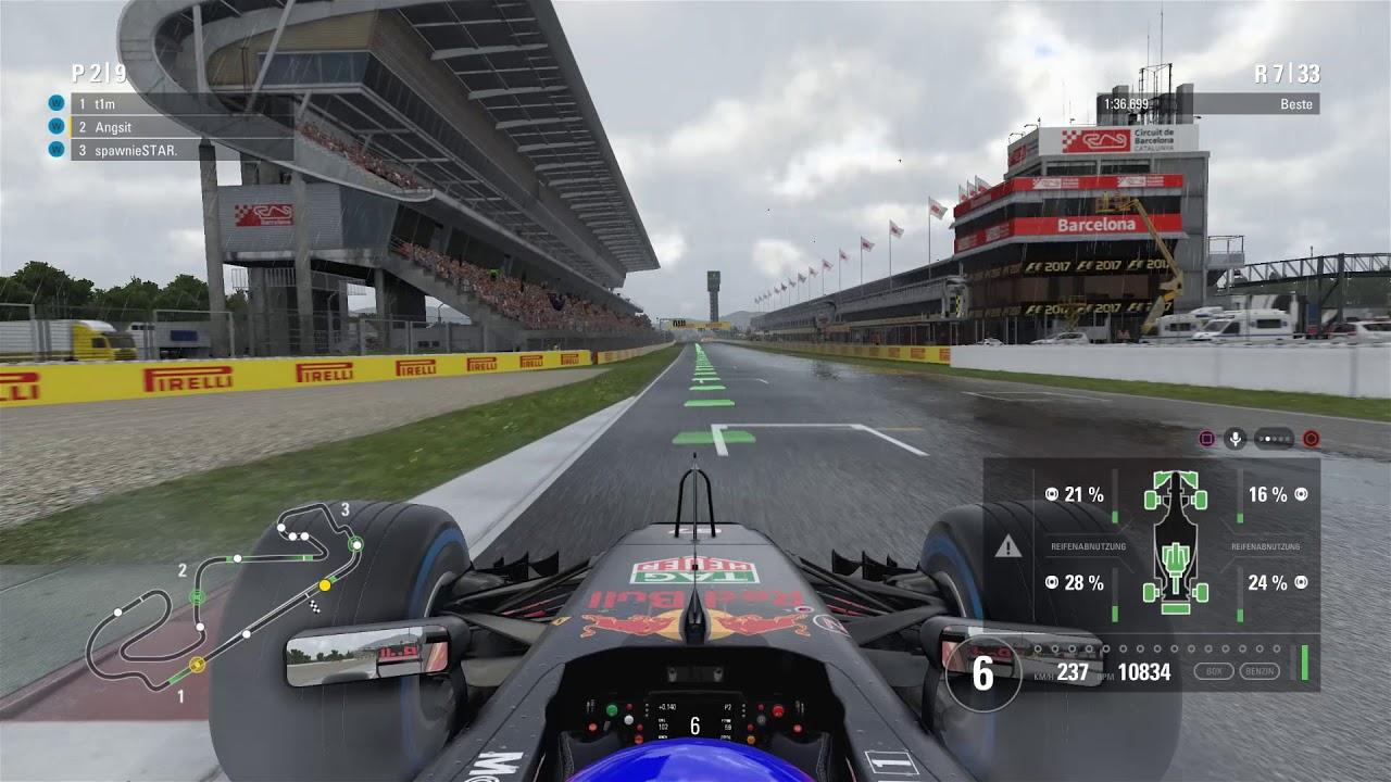Testrennen Spanien F1 2017 F1 ONLINELIGA