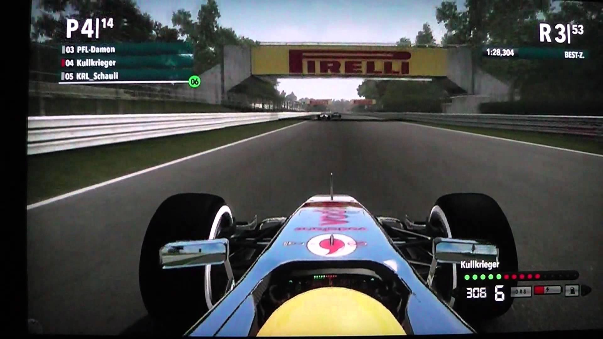 f12012 Monza von Platz 14 ins Rennen McLaren
