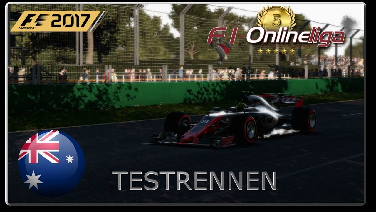 F1-Onlineliga [PS4] - Testrennen #01